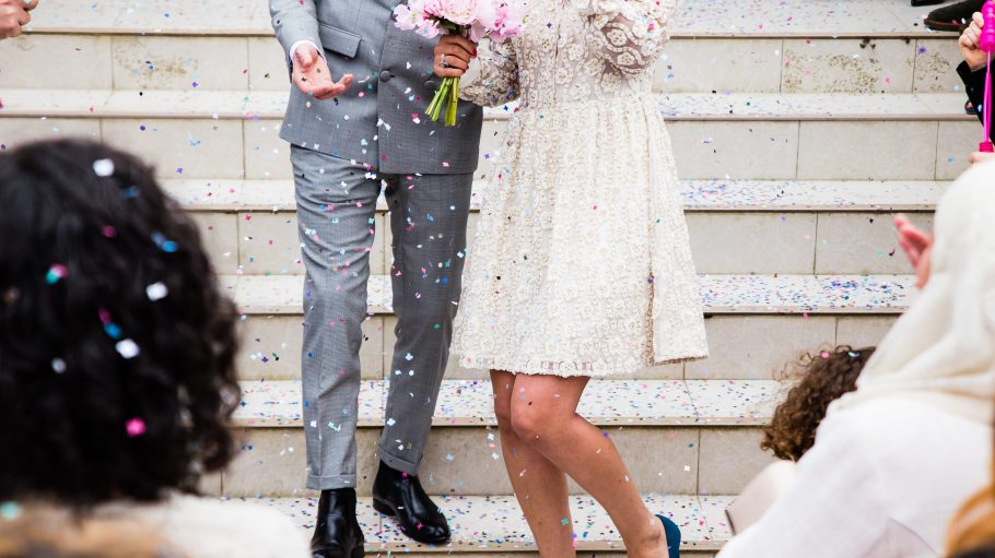 So eine schöne Hochzeit... da war Mascha einfach zu gerührt, um richtig zu flirten.
