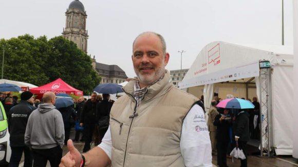 Ebenfalls dabei: Starkoch Markus Semmler.