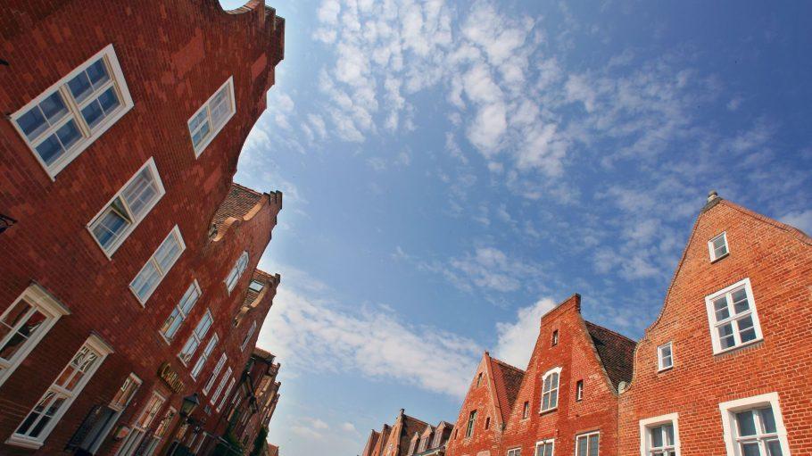 Die Dachgiebel gehören zum Holländischen Viertel in Potsdam - dem Endpunkt unserer Radtour.