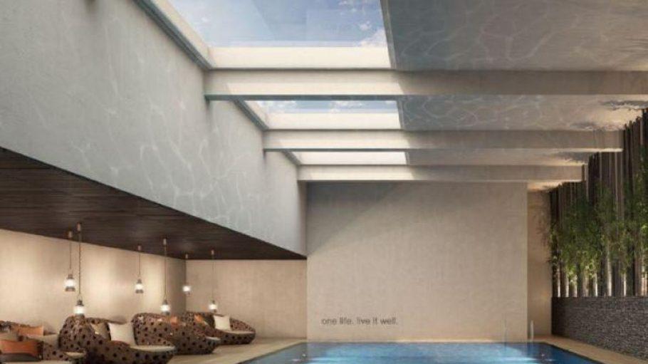 Der Pool in der neuen Holmes Place-Filiale in Steglitz.