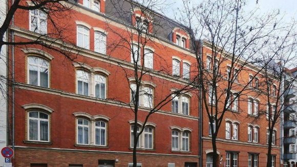 Synagoge in der Pestalozzistraße in Charlottenburg.