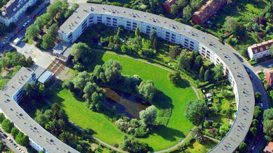 Das Ensemble der Hufeisensiedlung gehört zum Weltkulturerbe.