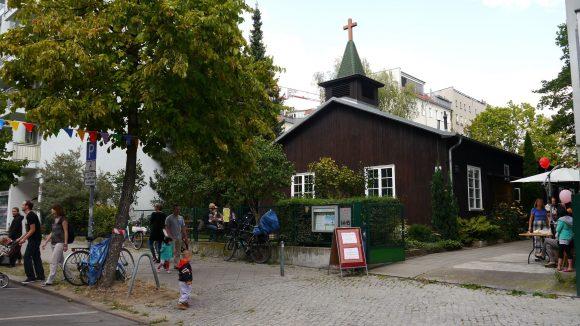 Auch dieEvangelisch-Methodistische Christus-Kirche hatte ihre Pforten geöffnet.