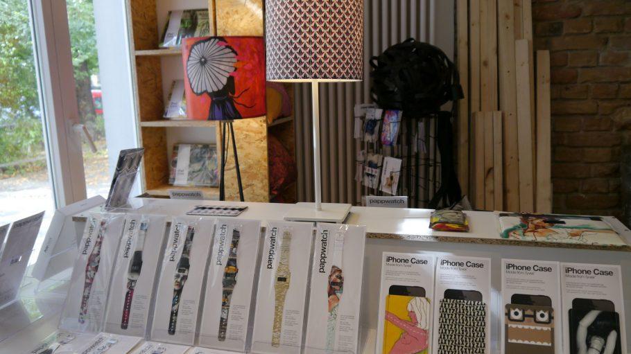 Atelier und Laden von I like Paper in der Reichenberger Straße in Kreuzberg.