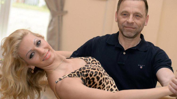 """Thomas Häßler tanzt ab Freitag mit der Profitänzerin Regina Luca in der RTL-Show """"Let's Dance""""."""