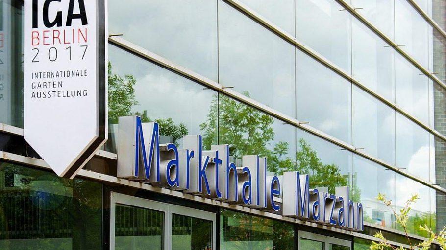 In der Markthalle am Blumberger Damm - neuerdings Heimat der IGA-Geschäftsstelle - wird am 27. September informiert und unterhalten.