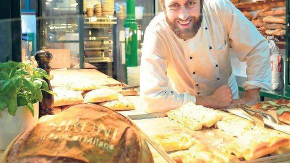 Alfredo Sironi hat Geschichte studiert - nun führt er eine echt italienische Bäckerei in der Markthalle IX.