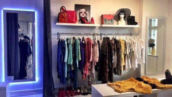 In der Boutique gibt es preiswerte Mode aus Italien, Frankreich und aus dem Kleiderschrank der Laden-Inhaberinnen selbst.