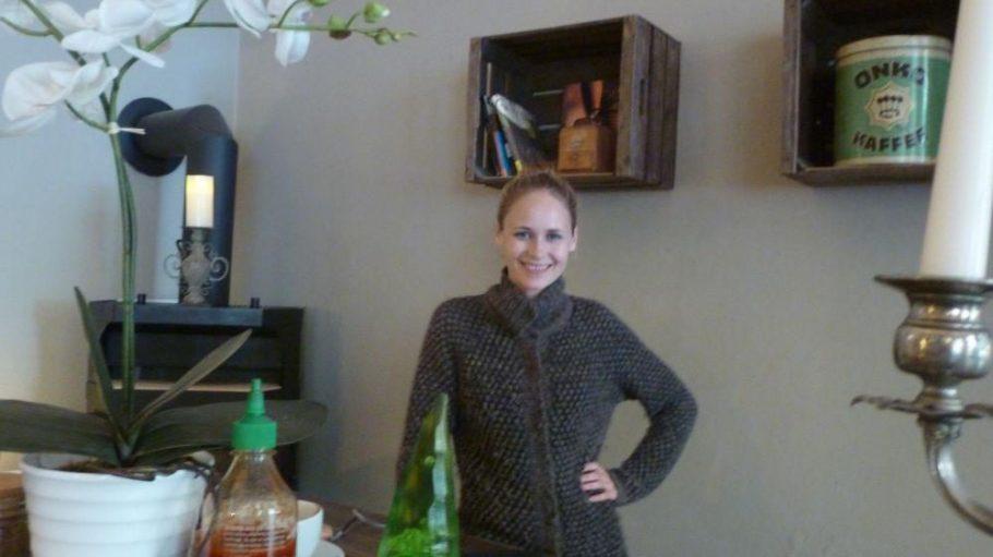 Im gemütlichen Café Suicide Sue in der Dunckerstraße.