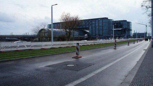 Invalidenstraße Dauer-Baustelle