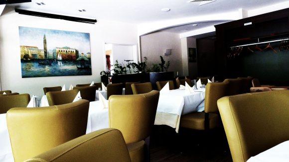 Der zweite Raum wurde im Nachhinein dem Restaurant hinzugefügt