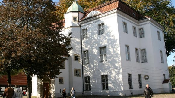 Das Jagdschloss Grunewald in Zehlendorf.