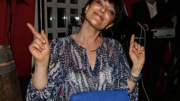 Die fröhliche 94,3 RS2-Moderatorin Miriam Piehlau.