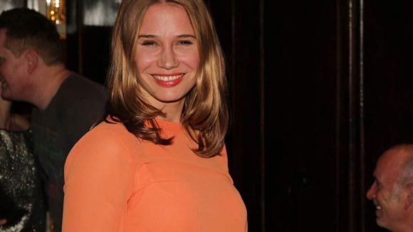 Schauspielerin Nadeshda Brennicke gehörte ebenso zu den weiteren Gästen wie ...