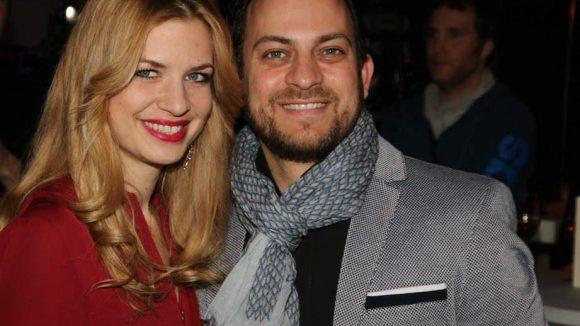 Schauspielerin Susan Sideropoulos mit ihrem langjährigen Partner Jakob Shtizberg.