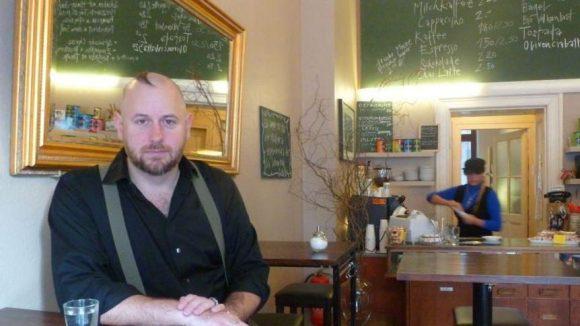 Mit dem Magier auf einen Kaffee im Salotto.
