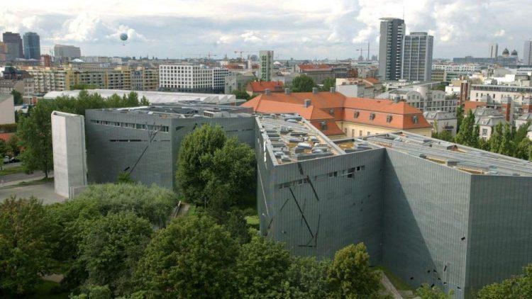 Das Jüdische Museum von Daniel Libeskind in Kreuzberg.