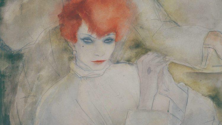"""Dieses Bild Jeanne Mammens heißt schlicht """"Die Rothaarige"""", ist aber von unglaublicher Intensität."""