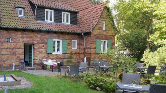 Der Johannesgarten ist die neue Begegnungsstätte derEvangelische Kirchengemeinde Frohnau.