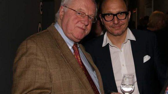 Die Journalisten Peter Brinkmann (l.) und Oliver Dunk.
