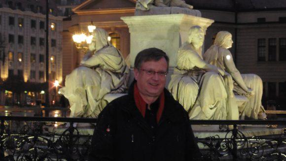 """Jörg-Peter Weigle liebt den Berliner Gendarmenmarkt: """"Das ist einer der schönsten Plätze Europas!"""""""