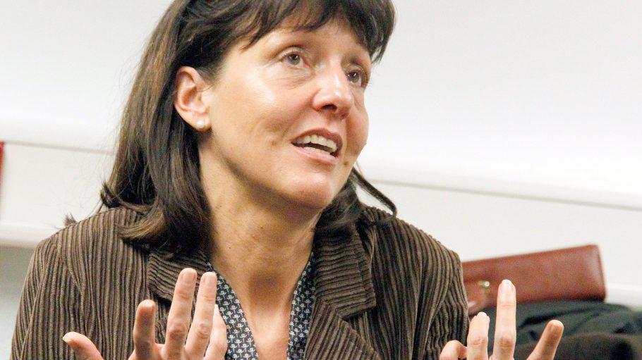 Jugendrichterin Kirsten Heisig in Berlin bei einer Pressekonferenz vor fünf Jahren.
