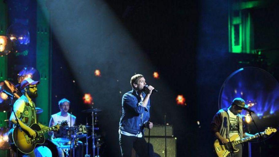 Die Jungs der Band Jupiter Jones, letztes Jahr Teilnehmer des 10. Bundesvision Song Contests, werden in der Station auf der Bühne stehen.