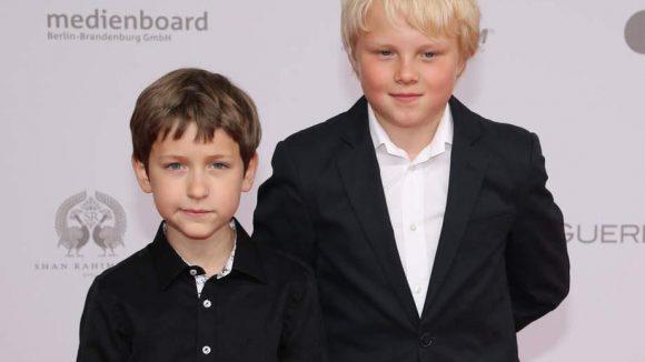 """Juri Winkler und Anton Petzold sind die Hauptdarsteller von """"Rico, Oskar und die Tieferschatten"""", der als bester Kinderfilm gewann."""