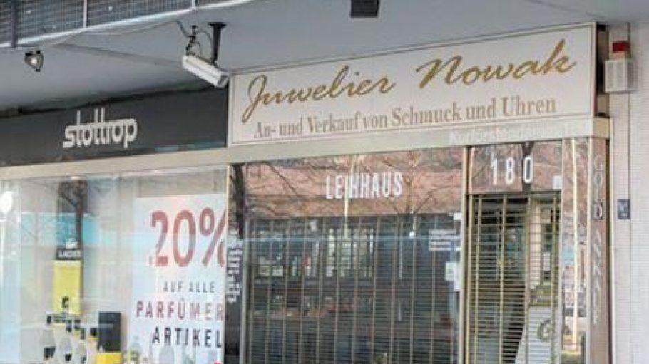 Juwelier Nowak am Kurfürstendamm.