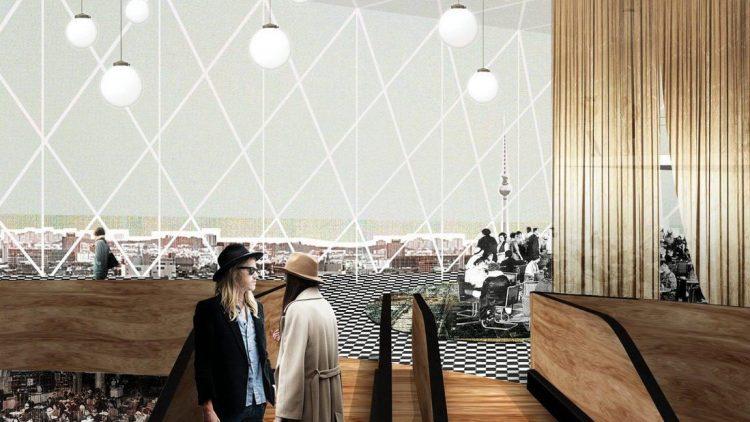 Im Obergeschoss des KaDeWe wandelt man nach dem Umbau unter einem gläsernen Dach.