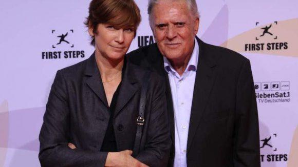 Kameramann Michael Ballhaus mit seiner Ehefrau Sherry Hormann.