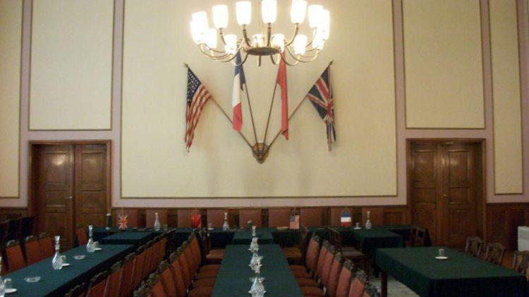 An diesem Ort wurde die Kapitulation des Deutschen Reiches unterzeichnet.