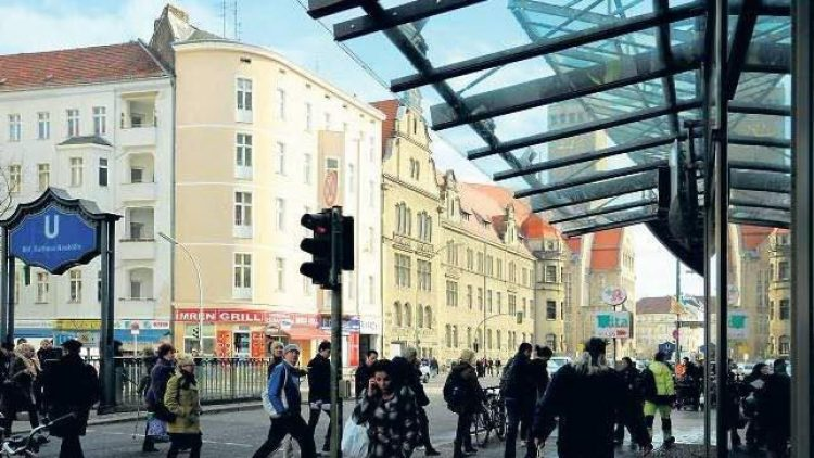 Die Neuköllner Karl-Marx-Straße.