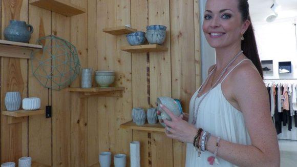 Ganz nach Kates Geschmack sind auch die Wohnaccessoires im Laden.
