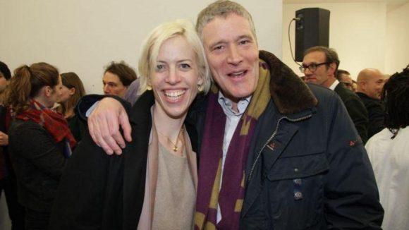 Steigerten mit: Katja Eichinger und Christoph Visser (Vorstand Studio Babelsberg).