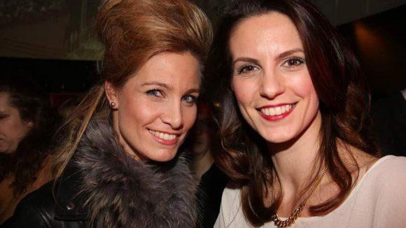 Natürlich waren auch Ladies eingeladen wie Katrin Brandt (l.) und die Ex-Miss Germany Katrin Wrobel.
