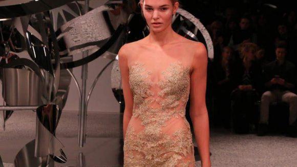 """Hier modelte unter anderem Luisa Hartema, die """"GNTM""""-Gewinnerin aus Staffel 7."""