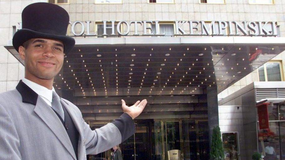 Seit über 50 Jahren empfängt das Kempinski seine Gäste. Wer weiß, wie lange noch.