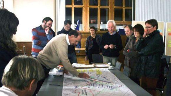 Planungsphase am Workshopwochenende.