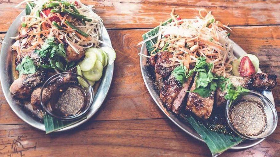 Thai-Food deluxe direkt vom Grill gibt es im neuen Restaurant Khwan.