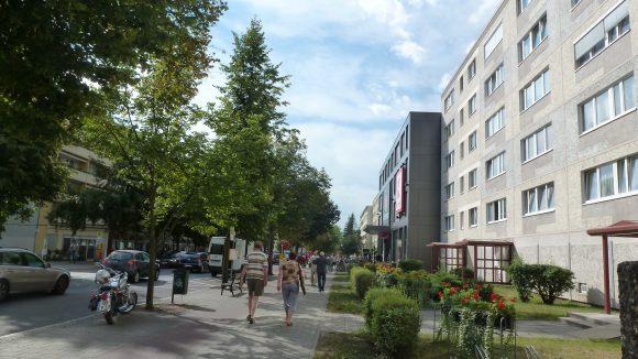 Die Prachtpromenade Erkners: die Friedrichstraße.