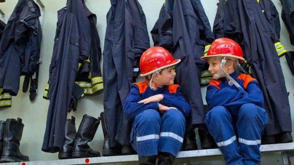 Auch für mehr Nachwuchs bei der Feuerwehr will das neue Floriansdorf in Brandenburg sorgen.