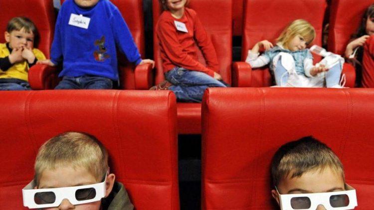 Kinder lieben Kino - in 2D, 3D und am besten jeden Tag.
