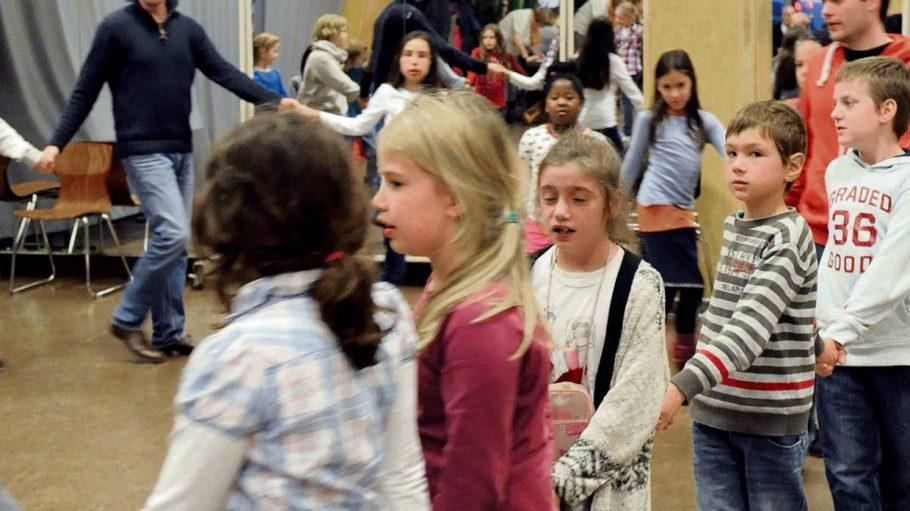 Kinder können im PallasT kostenlos im Chor singen.