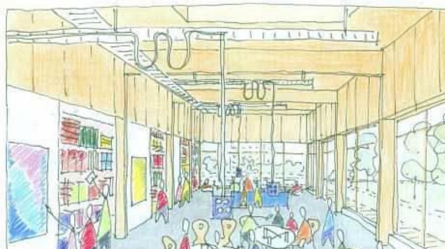 Lange waren die Räume des Helleum noch Zukunftsvision. Am 14.12.12 werden sie nun eingeweiht.