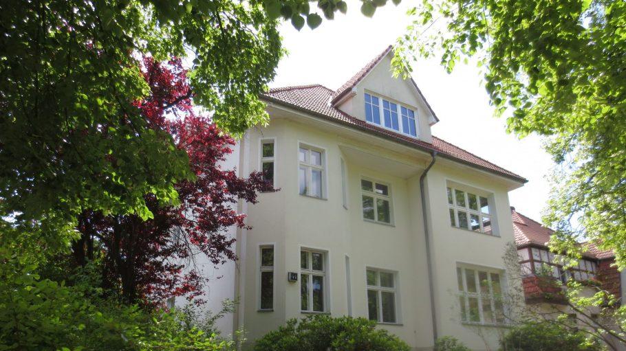 In diesem Haus in der Zeltinger Straße 44 befand sich einst die Kinderklinik Frohnau.