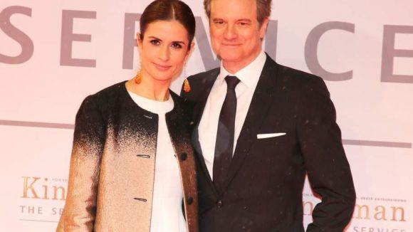Colin Firth spielt im Film den geheimnisvollen Agenten Harry Hart. Zur Deutschlandpremiere kam er mit Ehefrau Livia Giuggioli.