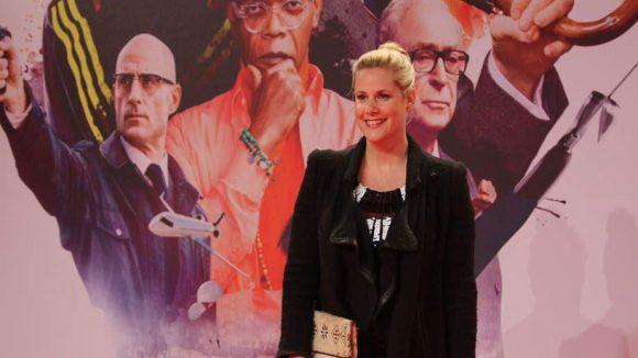 Zu den Premierengästen gehörte auch Drehbuchautorin Annika Becker.