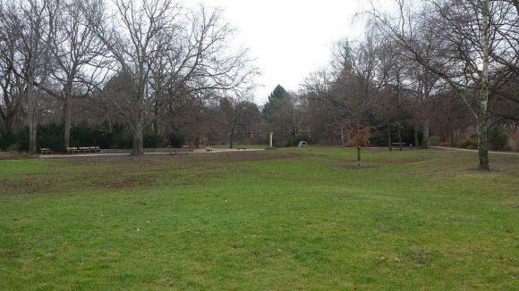 Der letzte noch bevorstehende Bauabschnitt im Osten des Parks ist ...