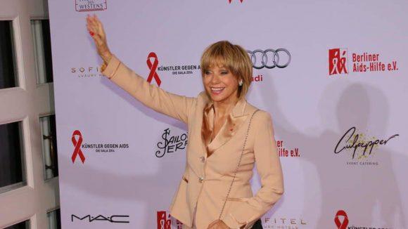 Die 'Grande Dame' Judy Winter engagiert sich schon länger gegen Aids.